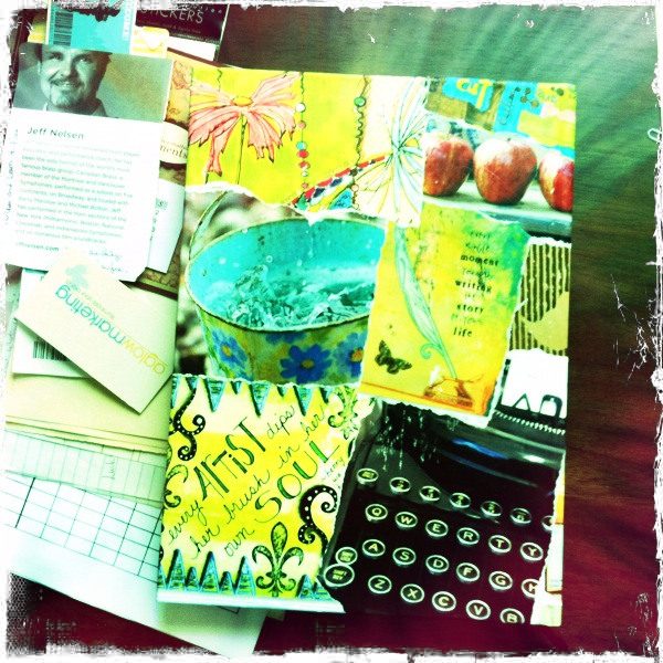 Meet my new art journal....